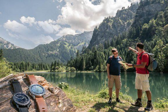 Zum Outdoortest angetreten: Mühle-Glashütte Sea-Timer BlackMotion und Garmin Marq Adventurer