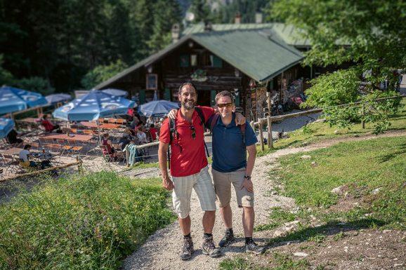 Schönes Ziel für eine schöne Wanderung: die gemütliche Kenzenhütte