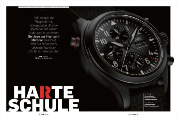IWC Pilot's Watch Double Chronograph Top Gun Ceratanium im Test