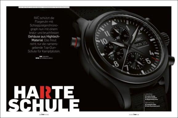 IWC Pilot's Watch Double Chronograph Top Gun Ceratanium im Test