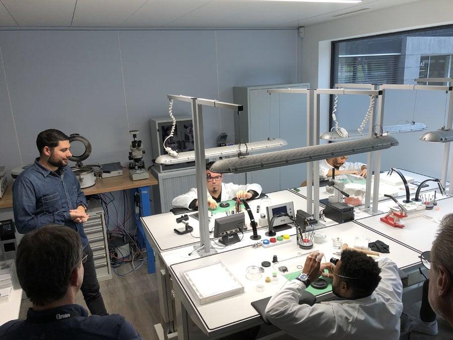 Chronos-Leserreise Genf 2019: Bei RJ arbeiten derzeit rund 30 Personen