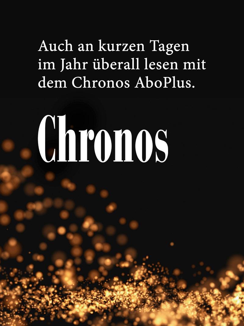 Produkt: Chronos Jahresabonnement AboPlus Aktion