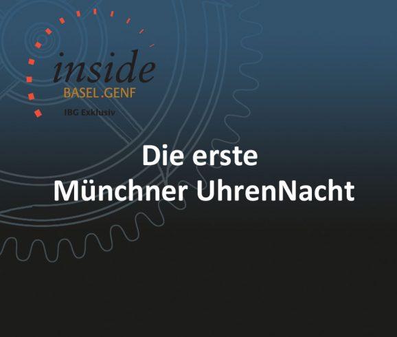 Erste Münchner UhrenNacht