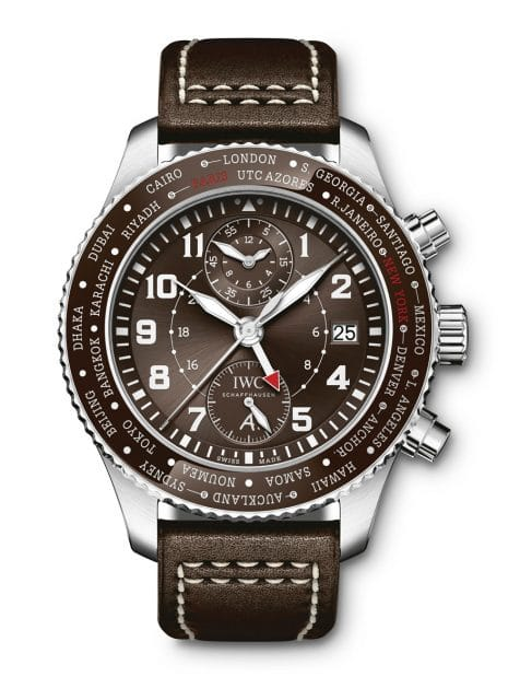 "IWC: Pilot's Watch Timezoner Chronograph Edition ""80 Years Flight to New York"""