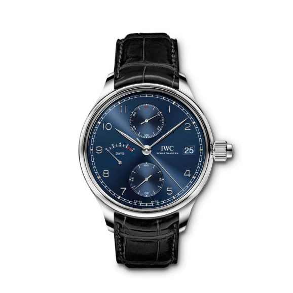 "Portugieser Hand-Wound Monopusher Editon ""Laureus Sport for Good"""