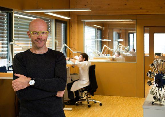 Jörg Schauer, seit 1996 Inhaber der Marke Stowa