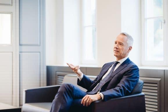 Im Gespräch: Lange-CEO Wilhelm Schmid