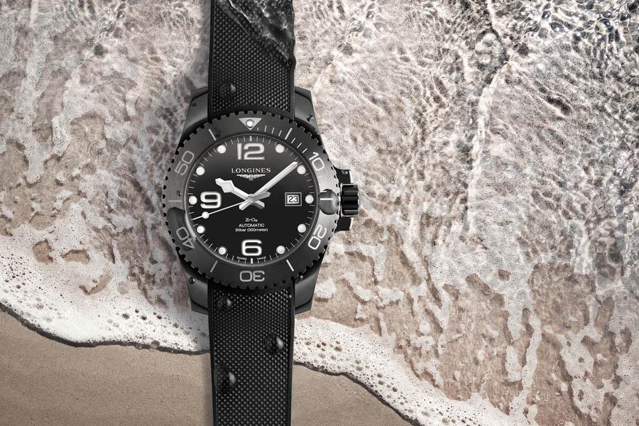 Longines: HydroConquest All Black