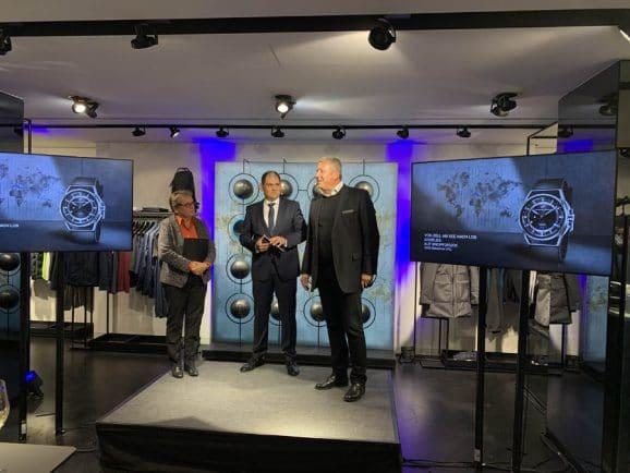 Exklusive Veranstaltung von Porsche Design für die Vorstellung der Globetimer UTC