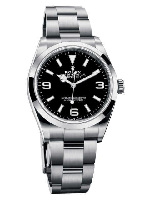 Rolex: Explorer, Edelstahl, 36 mm, Referenz 124270