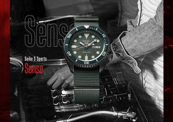 Seiko: 5 Sports Sense SRPD77K1