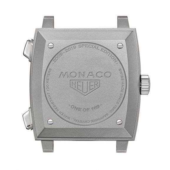 Gehäuseboden der TAG Heuer Monaco 2009-2019 Limited Edition