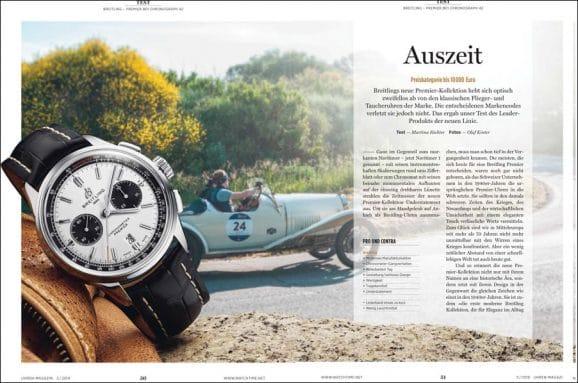 Im Test: Breitling Premier B01 Chronograph 42