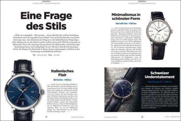 """UHREN-MAGAZIN 6/2019: Kaufberatung """"Elegante Uhren"""""""