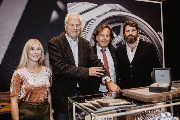 Übergabe der Taucheruhrenwahl 2019 im Rahmen der Watchtime Düsseldorf
