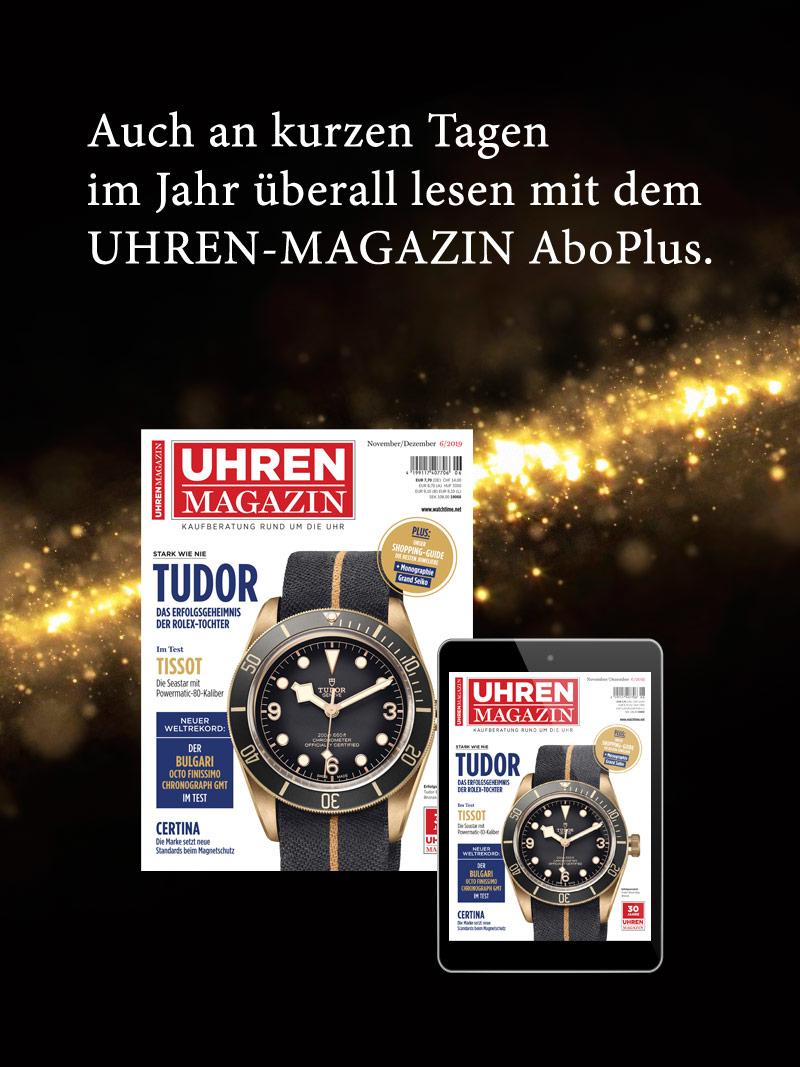 Produkt: UHREN-MAGAZIN Jahresabonnement Plus Aktion