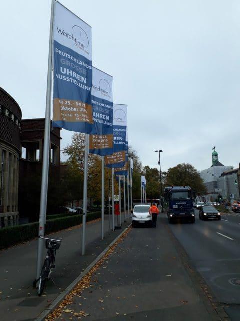 Watchtime Düsseldorf, Die Watchtime Düsseldorf fand vom 25.–27. Oktober 2019 in der Rheinterrasse Düsseldorf statt