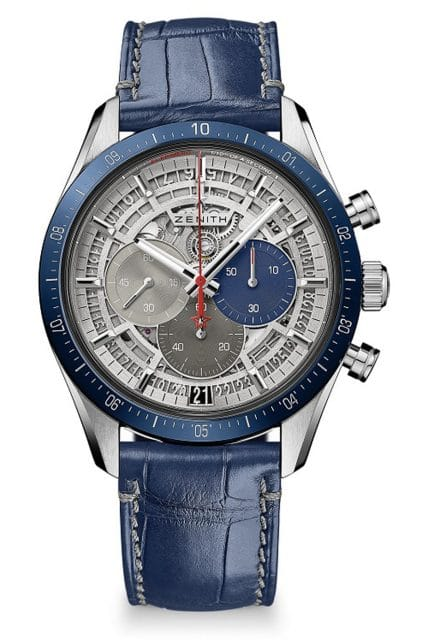 Zenith: Chronomaster 2 in Blau