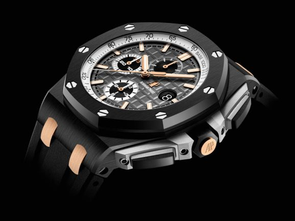 "Audemars Piguet: Royal Oak Offshore ""Pride of Germany"" in schwarzer Keramik"