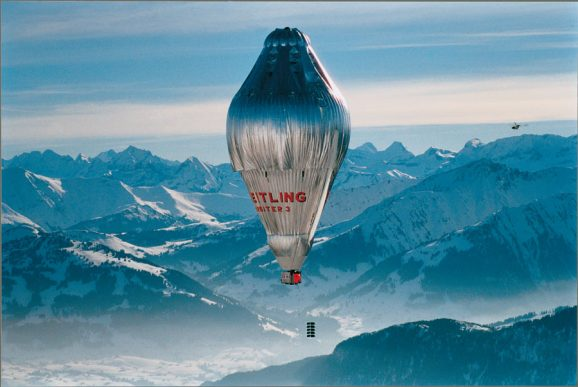 Der Ballon Orbiter 3 umrundete 1999 nonstop den Erdball