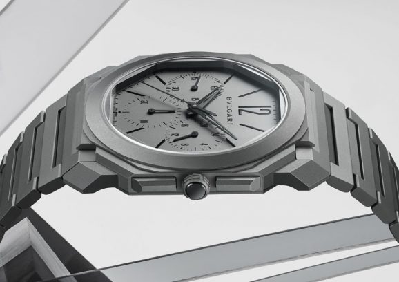 Bulgari Octo Finissimo Chronograph GMT Automatic - facettenreiches Gehäuse
