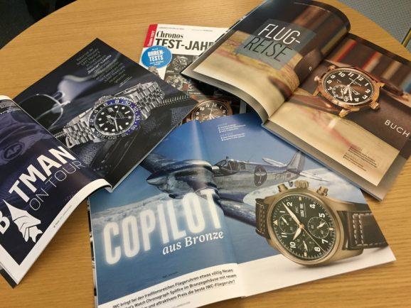 Zu den getesteten Uhren gehören die begehrten Neuheiten von Rolex, IWC und Patek Philippe