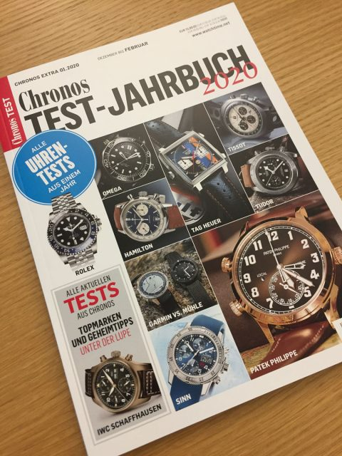 Chronos Test-Jahrbuch 2020