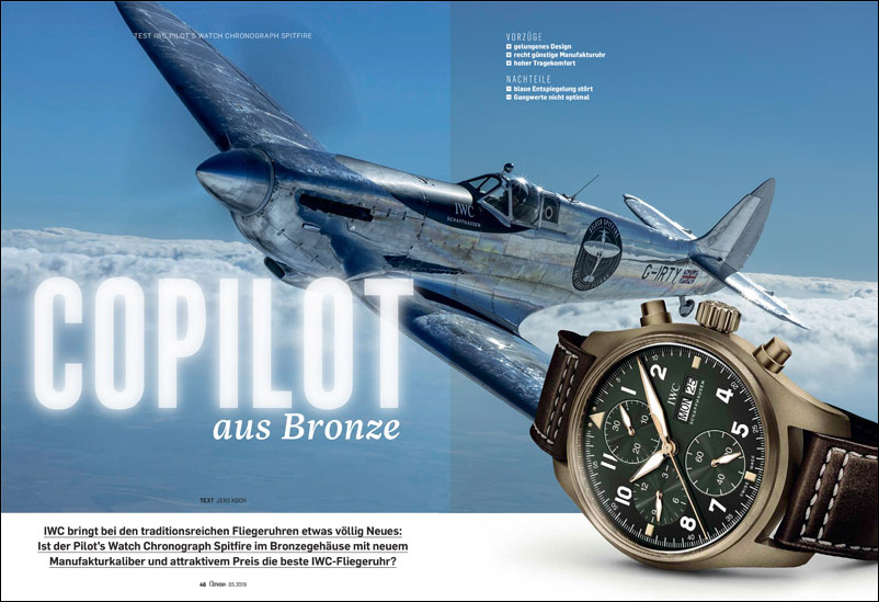 Produkt: Download: IWC Pilot's Watch Chronograph Spitfire im Test
