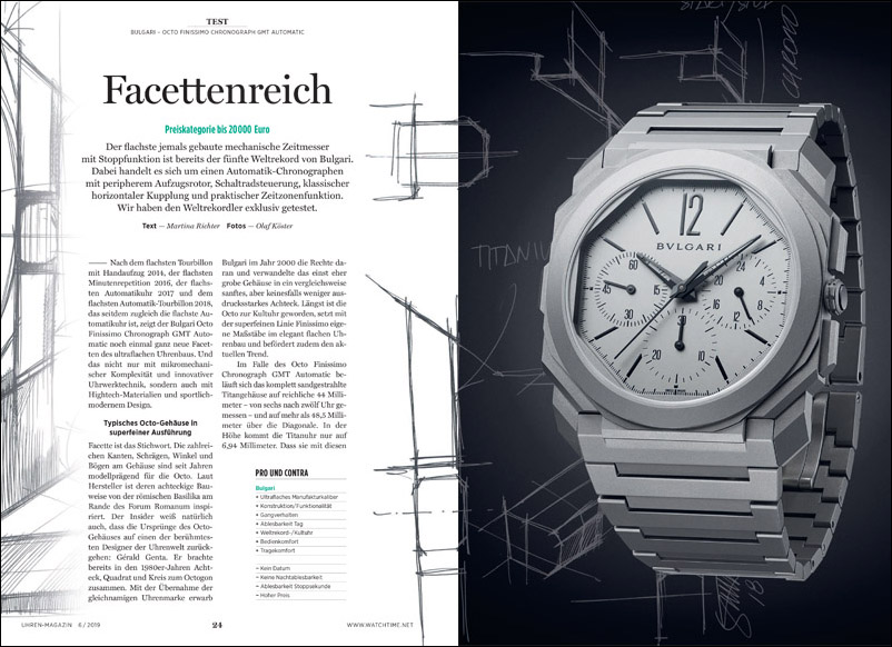 Produkt: Download: Bulgari Octo Finissimo Chronograph GMT Automatic im Test