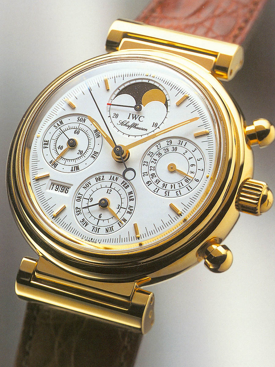 Das Uhrenrevival der 1980er-Jahre: IWC Da Vinci Perpetual Calendar 1985
