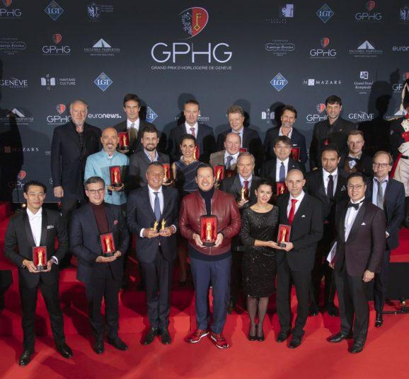 Die Preisträger des Grand Prix d'Horlogerie de Genève 2019