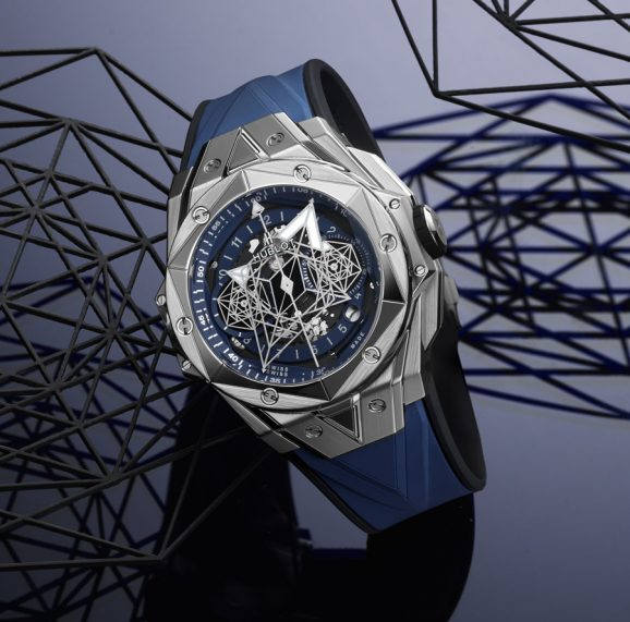 Hublot: Big Bang Sang Bleu II Titanium Blue