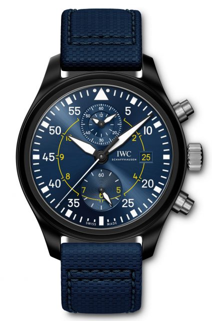 "IWC: Pilot's Watch Chronograph Edition ""Blue Angels"""