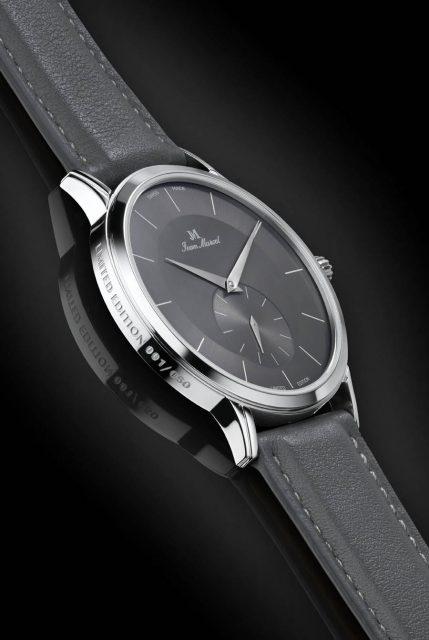 Die mit 5,7 Millimetern Höhe extrem flache Jean Marcel Tantum 313 Watchtime ist nur im Watchtime.net-Shop erhältlich