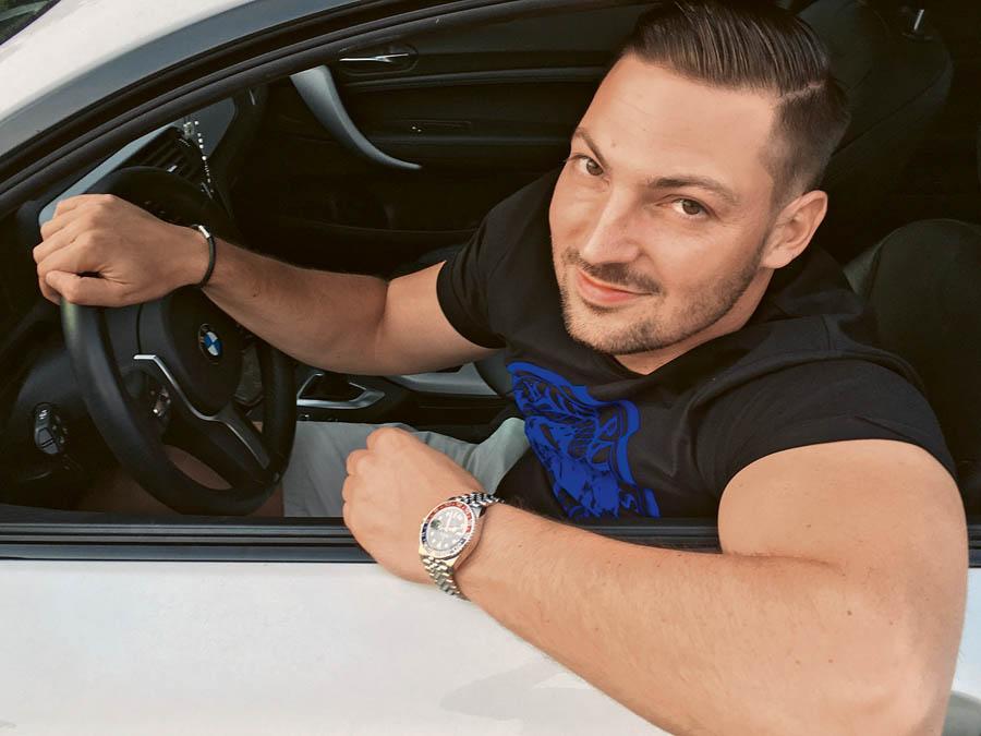 BMW und Rolex GMT Master II »Pepsi«: Maximilian Höreth