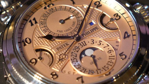Bei der Only Watch 2019 für 31 Millionen Franken verkauft: Patek Philippe Grandmaster Chime in Stahl