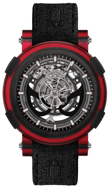 RJ Watches: Arraw Spider-Man Tourbillon