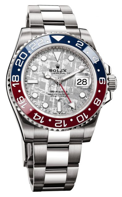 Rolex: GMT-Master II mit Meteoritenzifferblatt