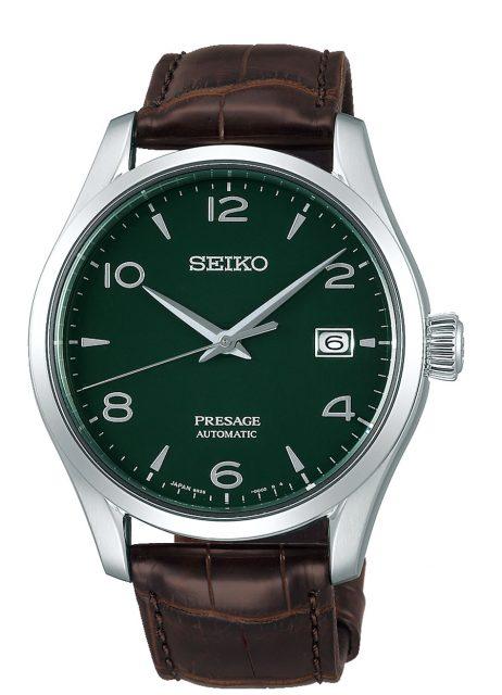 Seiko: Presage SPB111J1 mit grünem Email-Zifferblatt