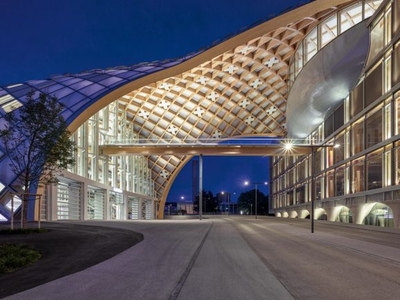 Im Oktober 2019 hat Swatch seinen neuen Hauptsitz in Biel eingeweiht