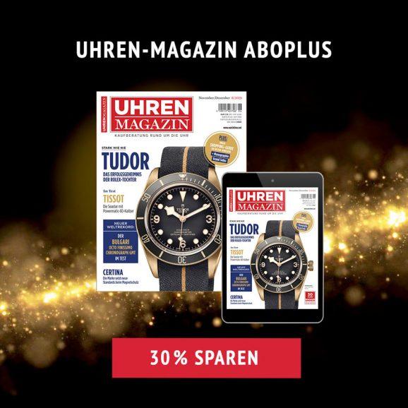 UHREN-MAGAZIN: Weihnachtsaktion 2019 Jahresabonnement AboPlus