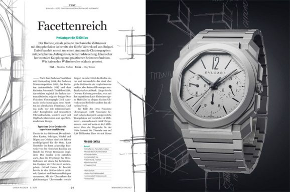 Test: Bulgari Octo Finissimo Chronograph GMT Automatic