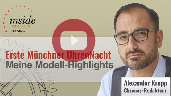 Video von der ersten Münchner UhrenNacht