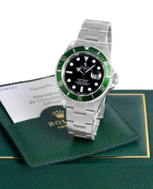 """Rolex: Submariner Date """"Hulk"""" Referenz 16610LV von 2003"""