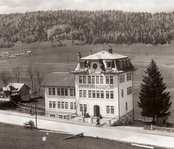 1907 erbaut: Das Manufakturgebäude von Audemars Piguet in Le BrassusAP-Manufakturgebaeude