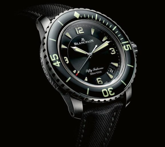 Blancpain: Fifty Fathoms Titan