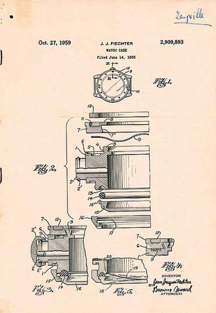 Blancpain: Patent Taucherlünette