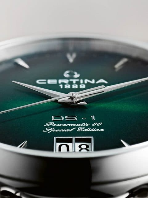 Certina: DS 1 Big Date 60th Anniversary
