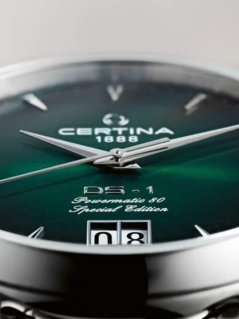 Certina: DS 1 Big Date 60th Anniversary