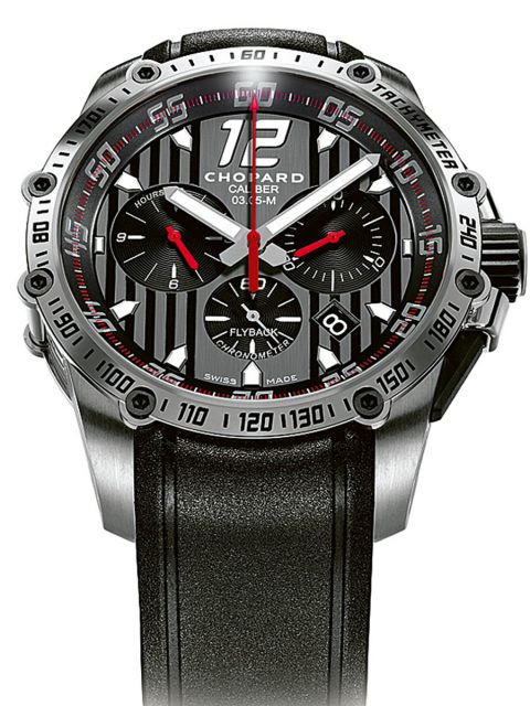Chopard: Superfast Chrono